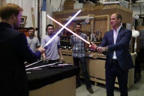 Pangeran William dan Pangeran Harry Kunjungi Studio