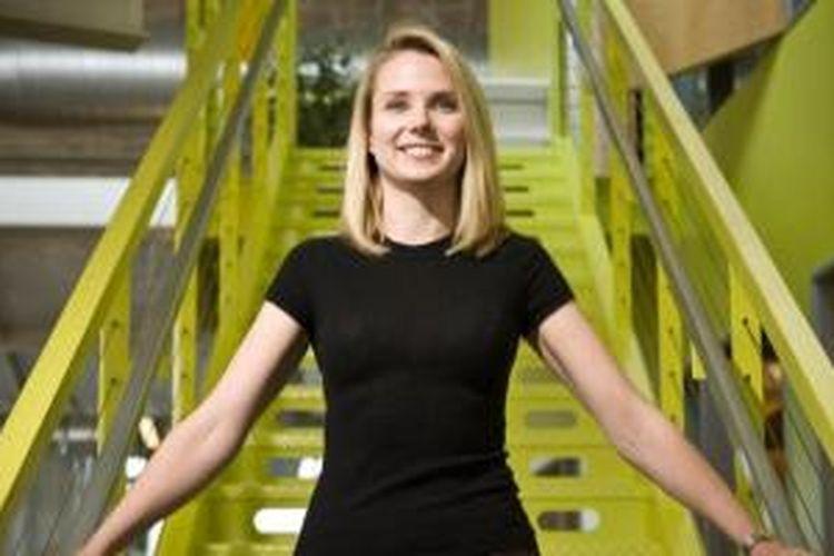 Marissa Mayer, CEO Yahoo, sosok paling berpengaruh versi majalah Time.