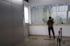 Hujan Deras, Lantai 2 Stasiun Palmerah Tergenang Air