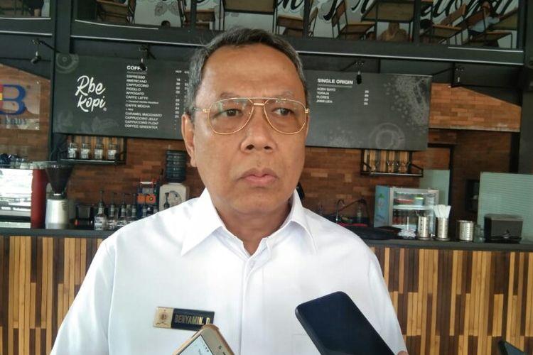Wakil Wali Kota Tangsel, Benyamin Davnie.