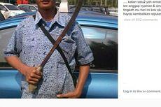 Ivan Gunawan Pajang Foto Sopir Taksi Bawa Golok