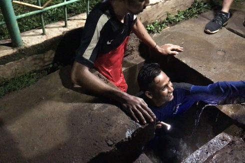 Bocah Hanyut di Saluran Air Pondok Karya Diduga Hanyut ke Kali Mampang