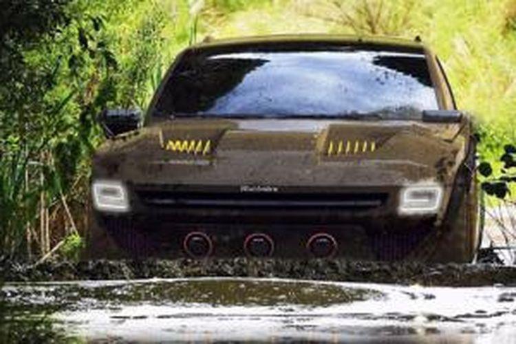 Rekaan digital SUV Mahindra Komodo