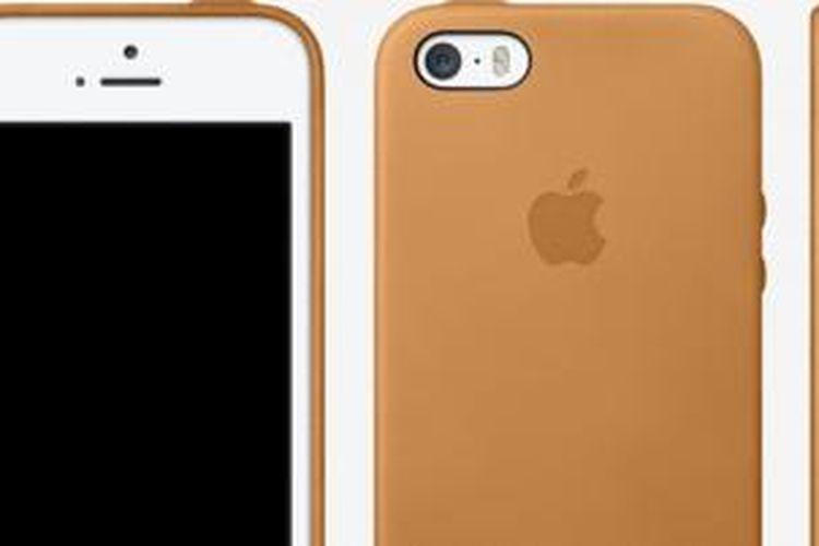 Casing iPhone 5S warna cokelat