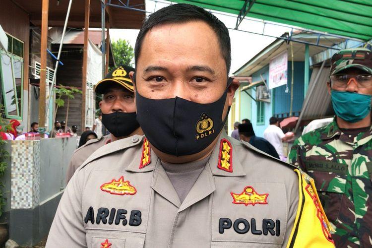 Kapolresta Samarinda, Kombes Pol Arief Budiman.