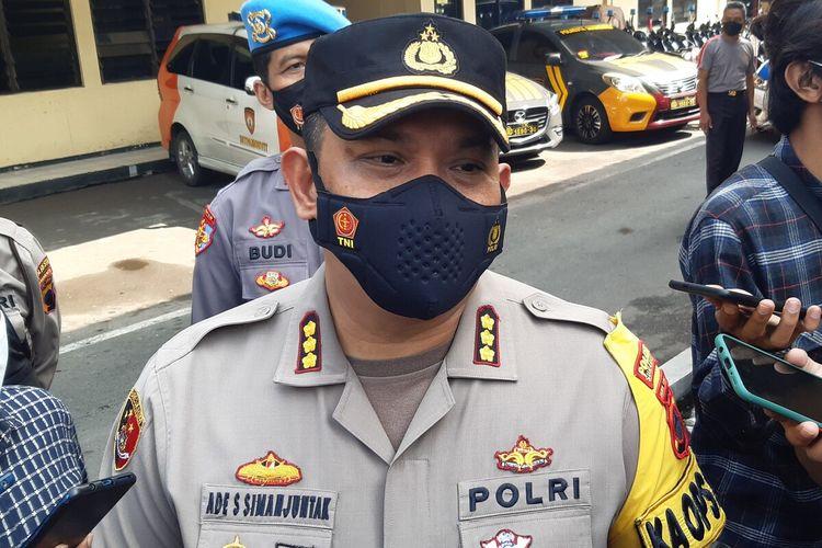 Kapolresta Solo Kombes Pol Ade Safri Simanjuntak di Mapolresta Solo, Rabu (5/5/2021).