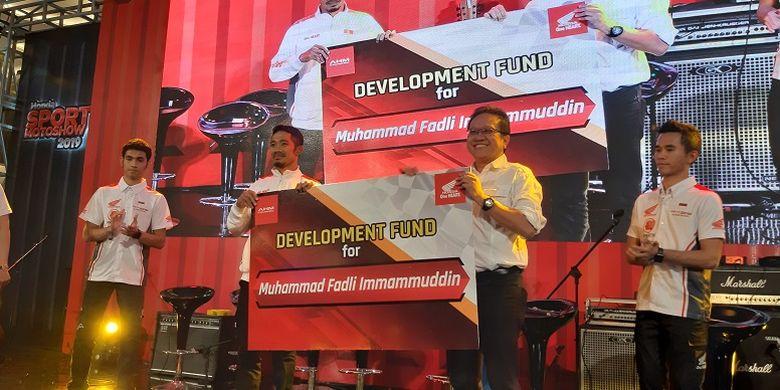 Penghargaan untuk M. Fadli
