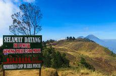 Gunung Prau dan Bukit Sekunir Buka Wisata Pendakian, Ini Ketentuannya