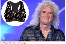 Gitaris Queen Brian May Bikin Bra Sport Gambar Gitar
