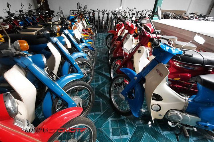Motor lawas koleksi Museum Merpati Motor