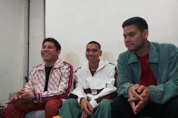 Grup band RAN saat ditemui di M Bloc, Blok M, Jakarta Selatan, Jumat (27/12/2019).
