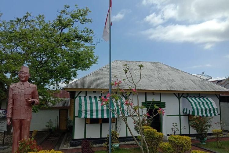 Foto : Rumah pengasingan Bung Karno di di jalan Perwira, Kelurahan Kotaraja, Ende Utara, Kabupaten Ende, NTT.