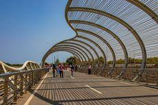 Jembatan Pantai Boom Banyuwangi, Disebut Dion Wiyoko Seperti di Helix Bridge Singapura
