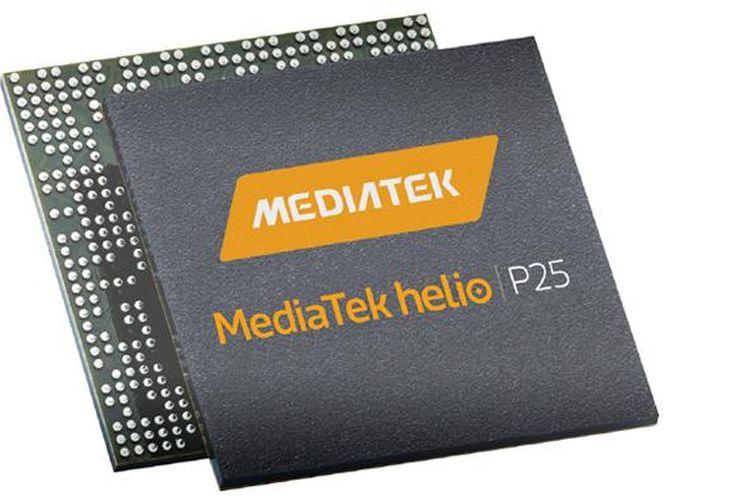 Ilustrasi MediaTek Helio P25