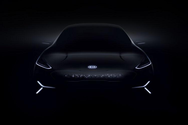 Konsep Kia Niro Electric Vehicle.
