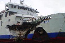 Pasca-Tabrakan Kapal, Penyeberangan Merak-Bakauheni Tetap Normal