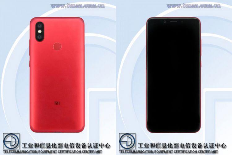 Foto Xiaomi Mi 6X alias Mi A2 dari situs TEENA.