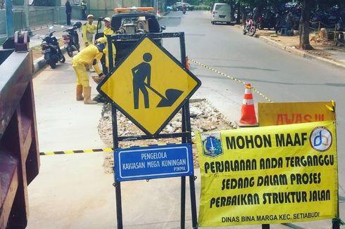 4.358 Jalan Berlubang di Jaksel Diperbaiki, Paling Banyak di Kecamatan Pasar Minggu