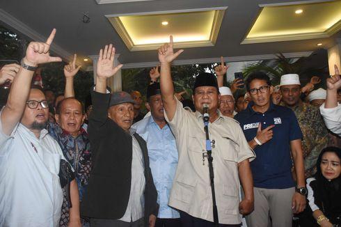 BPN: Sandiaga Tak Dampingi Prabowo di Acara Syukuran karena Sakit