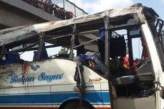 Kecelakaan Bus di Tol Palikanci karena Sopir Mengantuk