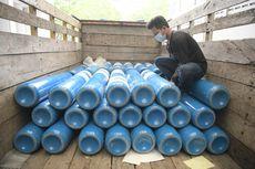 Kalsel Terima 56 Ton Oksigen dari Surabaya, Pj Gubernur: Hanya untuk 3 Hari