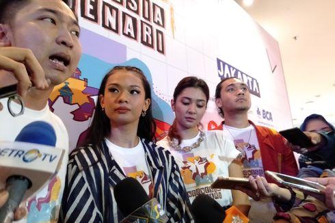 Giorgino Abraham dan Mikha Tambayong Berlenggak-lenggok di Indonesia Menari