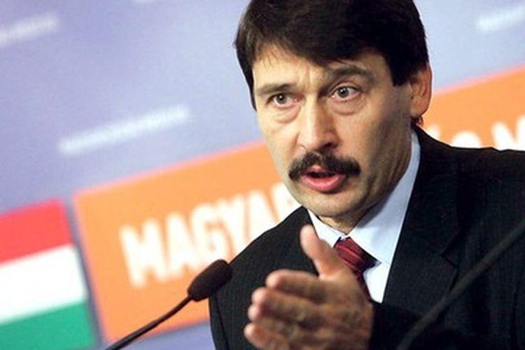 Presiden Hongaria Janos Ader.