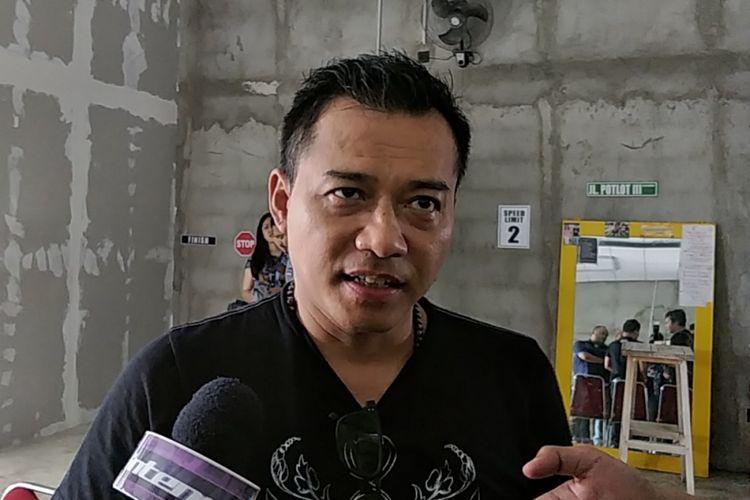 Anang Hermansyah saat ditemui di Postjam, Potlot III, Jakarta Selatan, Kamis (1/2/2018).