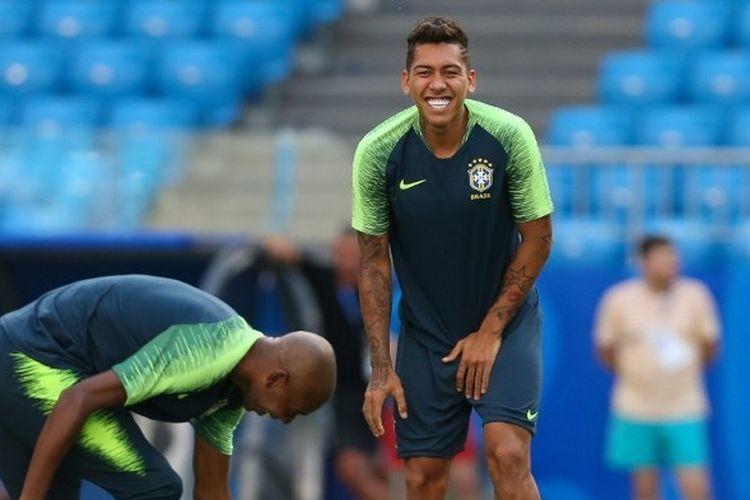 Penyerang timnas Brasil dan Liverpool, Roberto Firmino