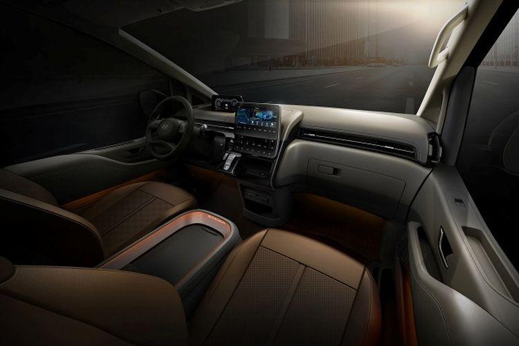 Hyundai Staria, calon MPV mewah pesaing Alphard.