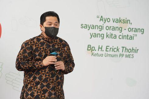Ercik Thohir: 1,92 Juta Dosis Vaksin Gotong Royong Sudah Didistribusikan