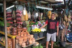 Menengok Kawasan Penjual Bunga Tabur di Kramat Jati