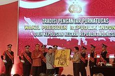 Saat Polri Melepas Wapres Jusuf Kalla dengan Upacara Purnatugas...