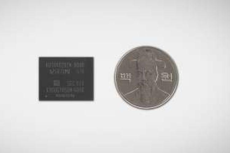 SSD samsung seri MP971-NVMe ukuran fisiknya kecil tapi memiliki kapasitas hingga 512 GB