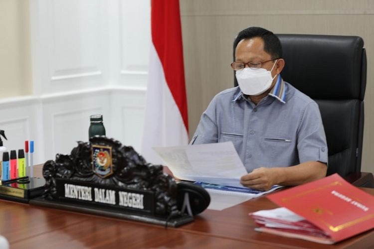 Menteri Dalam Negeri Tito Karnavian.