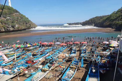 Uji Coba Wisata Gunungkidul, Pantai Baron dan Kukup Ramai Dikunjungi Wisatawan