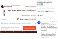 Viral Twit Pesanan Dibatalkan Saat Flash Sale, Ini Penjelasan Shopee