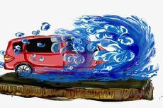 Banjir Bandang di Lebak, Belasan Rumah Terendam, Mobil Hanyut
