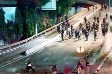 Jadi Sasaran Amuk Massa, Pos Polisi di Kolong Jembatan Slipi Dibakar