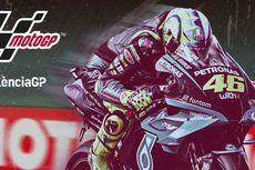 GP Valencia Bikin Poster Khusus buat Valentino Rossi