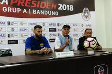 Komentar Mario Gomez Usai Persib Taklukkan Sriwijaya FC