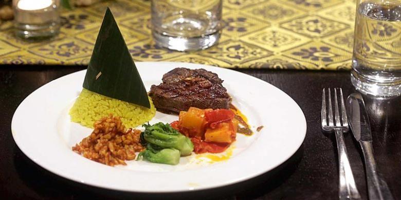 Rendang Wagyu Steak.