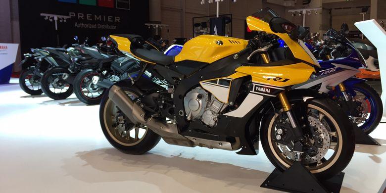 Yamaha R1 60th Anniversary di ajang IIMS 2017.