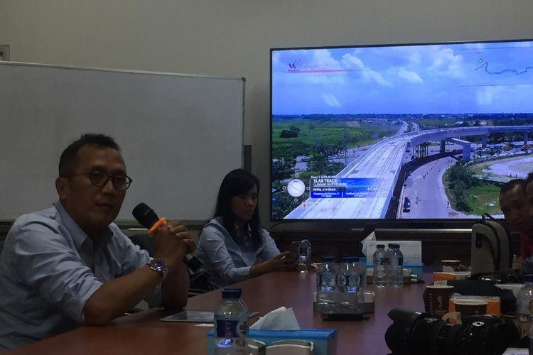 Kepala Proyek Utama LRT Palembang Masudi Jauhari.