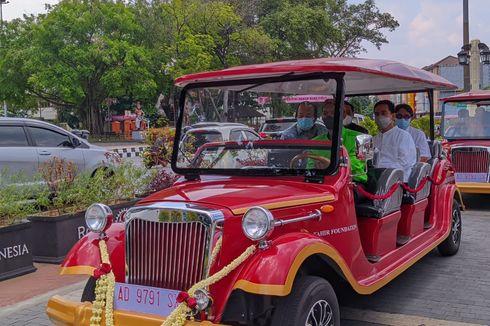 Jalan-jalan di Kota Solo Kini Bisa Naik Mobil Listrik Wisata