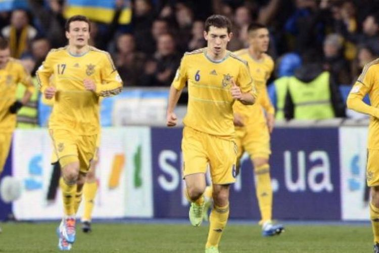 Tim nasional Ukraina.
