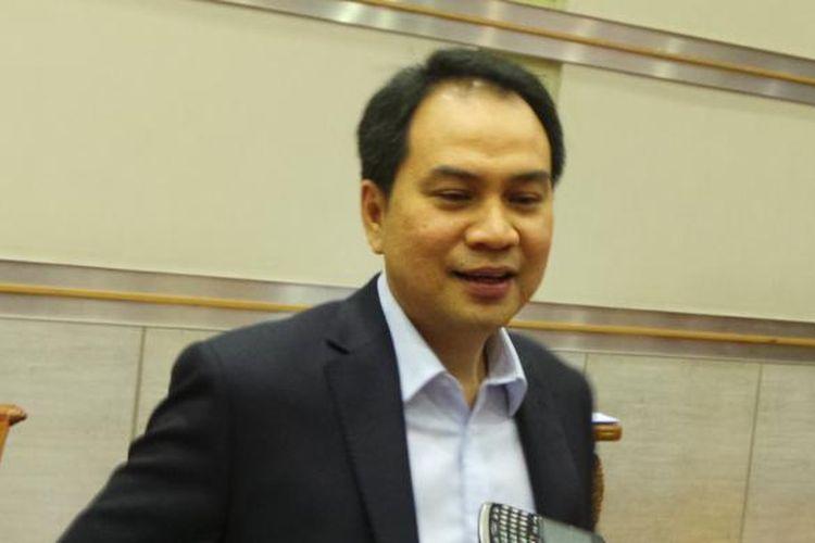 Anggota DPR dari Fraksi Partai Golkar Aziz Syamsuddin
