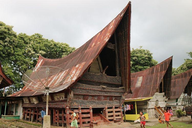 Peninggalan Sejarah  rumah Kepala Nagari Raja Gukguk, Raja pertama Pulau Sibandang