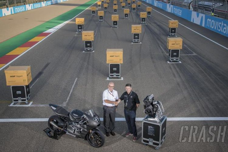 Triumph resmi serahkan mesin Moto2 di Aragon