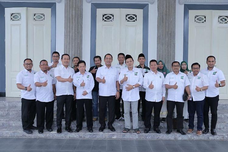 Audiensi pengurus baru Partai Kebangkitan Bangsa (PKB) dengan Pemkot Semarang, Rabu (4/3/2020).